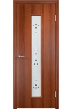 Дверь Одинцово - С21 Барокко ПО (Итальянский орех)