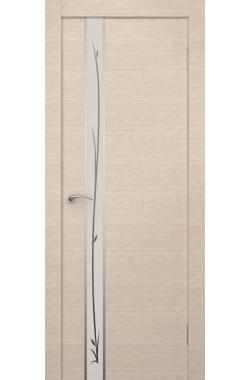 Дверь Ростра (Пефектлайн) - ПО Маэстро с рисунком (Бел дуб)