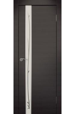 Дверь Ростра (Пефектлайн) - ПО Маэстро с рисунком (Венге)