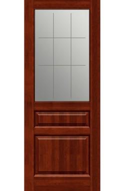 Двери из массива ольхи - ПМЦ Венеция ДО (Махагон)