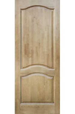 Двери из массива сосны - г.Поставы ПМЦ ДГ №7 (светлый лак)