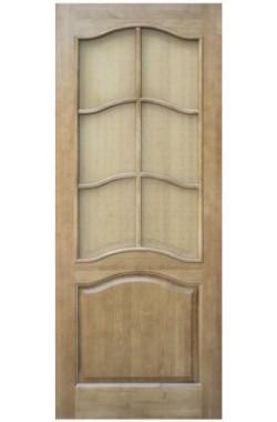 Двери из массива сосны - г.Поставы ПМЦ ДО №7 (светлый лак)