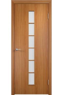 Дверь Одинцово - С12 ПО (Миланский орех)