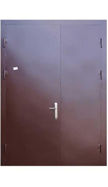 Дверь двупольная противопожарная 1
